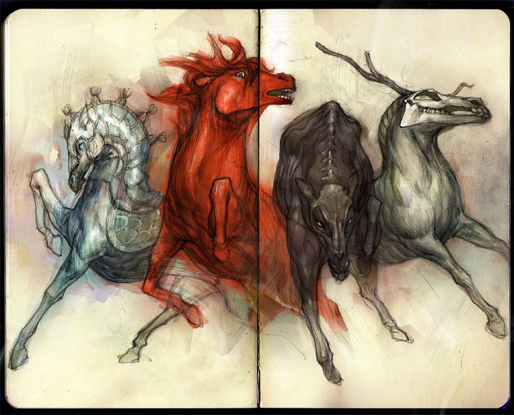 Four Horses of Revelation 6