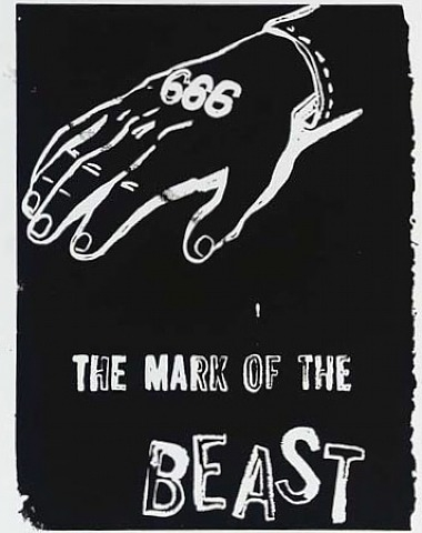 Andy Warhol Mark of the Beast
